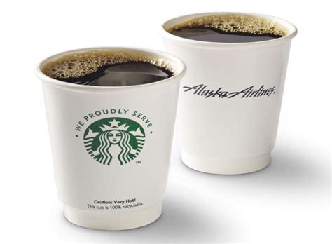 Our coffee is extremely fresh, delivered a day after roasting. Alaska Airlines starts serving Starbucks - seattlepi.com