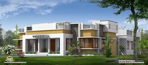 single houses single level designer home single floor house plans