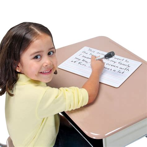 mini whiteboard for desk write again two sided primary lined dry erase boards non