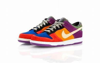 Nike Dunk Low Viotech Rainbow Returns Royalty