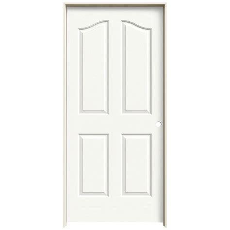 hollow interior doors jeld wen 36 in x 80 in molded textured 4 panel eyebrow
