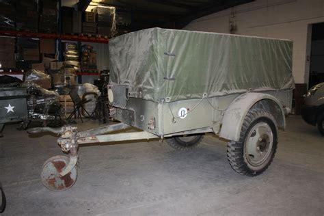 ww gmc trailer  french army