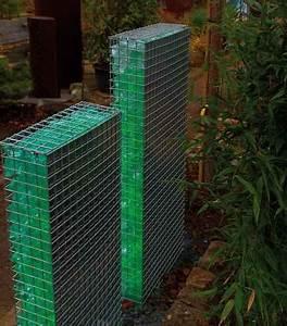 Skulpturen Für Garten : gabionen lichtskulptur f r den garten ~ Watch28wear.com Haus und Dekorationen