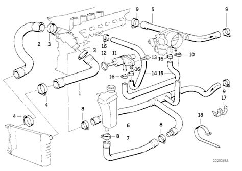 2001 Bmw 325i Engine Component Diagram by 2004 Bmw 325ci Cooling System Diagram Wiring Source