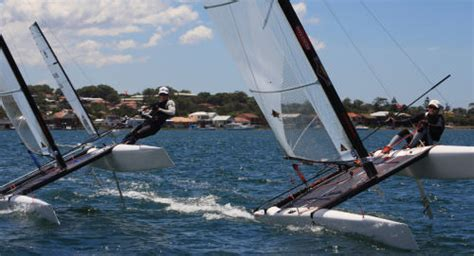 Dna Boats For Sale Australia by A Class Cat Australian Nationals At Lake Macquarie Day 1