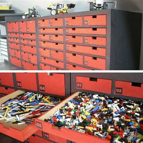 Rangement Lego  Le Guide Ultime (+ 50 Idées Et Astuces
