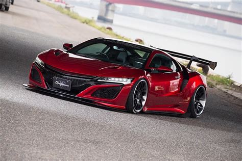 liberty walk reveal  honda nsx