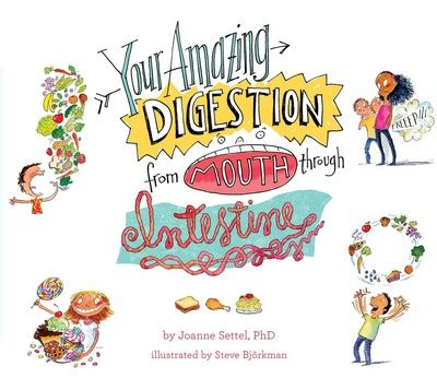 amazing digestion  mouth  intestine book