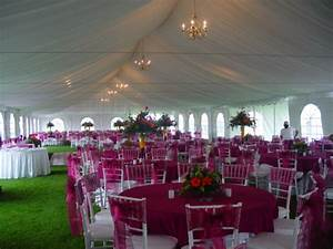 Outdoor Wedding Tents - Size Does Matter