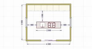 La cucina ad isola lineatre arredamenti alberobello for Cucina con isola dimensioni