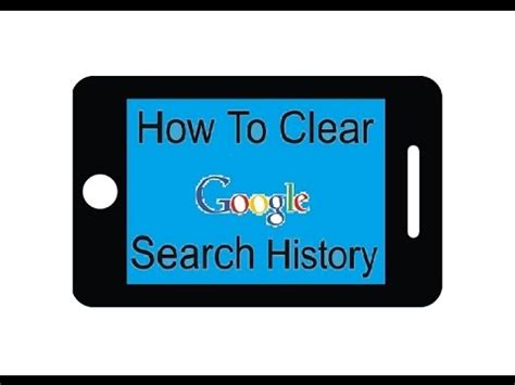 how to clear search history on android how to delete all search history on android phone