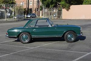 1965 Mercedes Benz 230sl Original Dark Green Paint  4