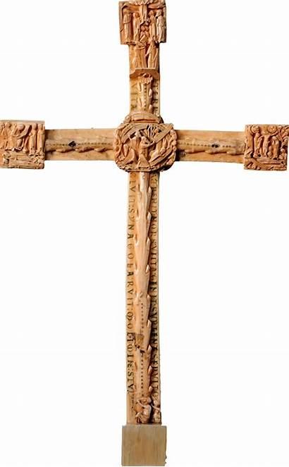 Cross Wooden Clipart Crucifix Revelation Transparent Carved