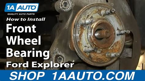 install front wheel bearing hub assembly