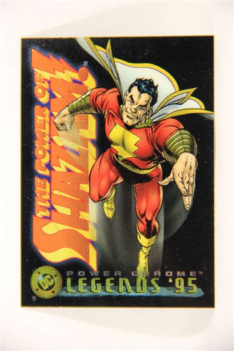 * listen and add to apple music playlists. L006422 DC Legends Power Chrome Trading Card 1995 - Shazam #3 - ENG   Trading cards, Superhero ...