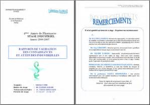 Plan De Rapport De Stage Exemple 3 Pictures to pin on