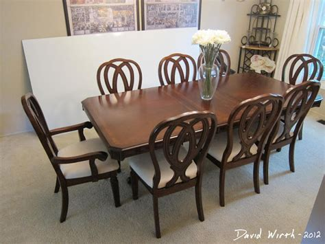 new dining room table and chairs