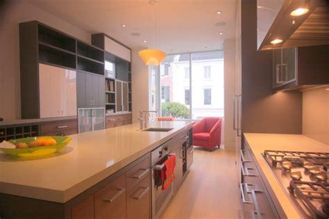 double sided kitchen  kitchen island   edge