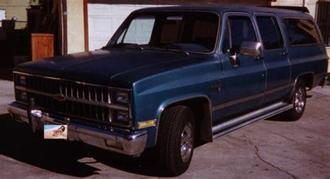 Aztecprinze3000 1982 Chevrolet Suburban 1500 Specs, Photos