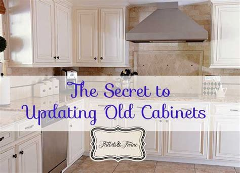 how to update my kitchen cabinets updating 80 s builder grade kitchen cabinets tidbits twine 8941
