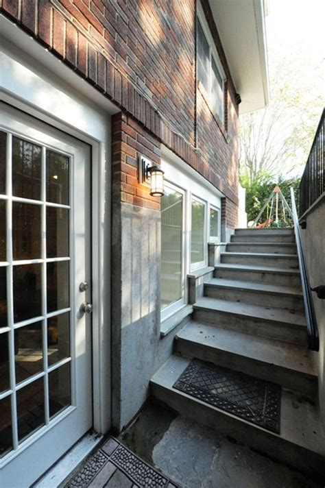 basement walkout 14 best outside basement stairs images on