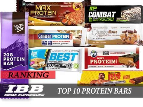 top 10 best protein bars in india for 2019 indian