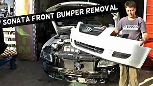 Hyundai Sonata Front Bumper Cover Removal Replacement