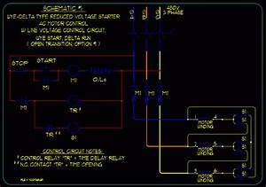 Wye Start Delta Run Motor Wiring Diagram Sample