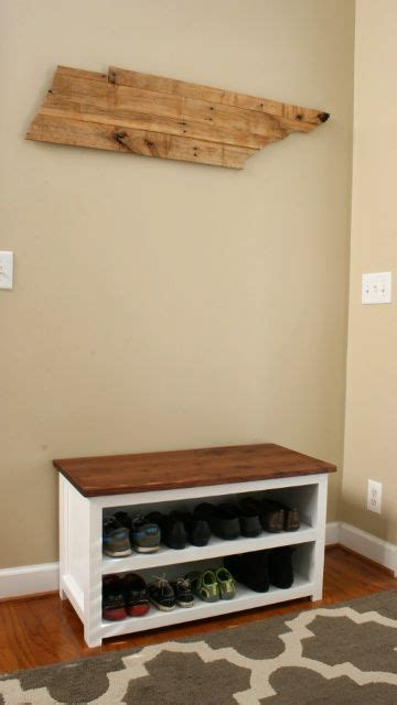 diy adjustable shoe storage bench furniture bench