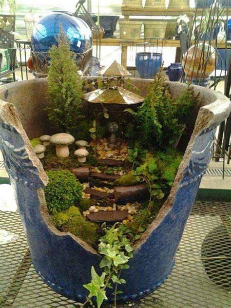 stunning ideas  build  fairy tale garden   broken