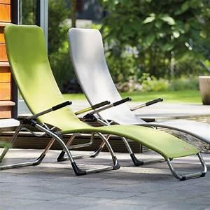 Chaise Longue Aluminium : chaise longue de terrasse samba de fiam ~ Teatrodelosmanantiales.com Idées de Décoration