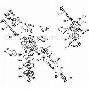 Stihl Ms 181 Chainsaw  Ms181c  Parts Diagram  Carburetor C1q