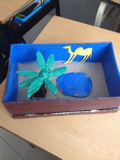 pin de anyesca serj en maqueta ecosistema desierto desiertos maquetas y escuela
