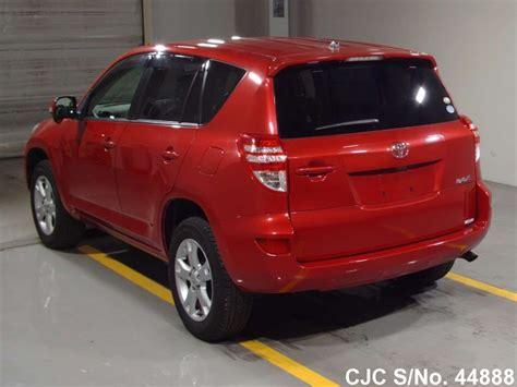 Toyota Rav4 2010 For Sale by 2010 Toyota Rav4 For Sale Stock No 44888 Japanese