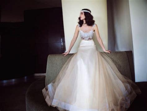 Very Elegant And Glam Wedding Dreses By Zahavit Tshuba