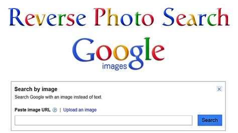 Reverse Photo Search With Google Images