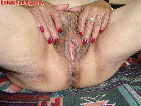 Granny Hairy Ass Hole