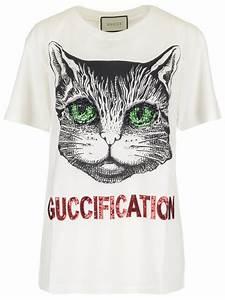6f6fea3e3 Gucci T Shirt Damen. t shirt fur damen wei von gucci t shirts ikrix ...