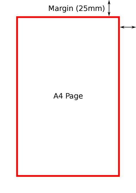 standard college essay margins