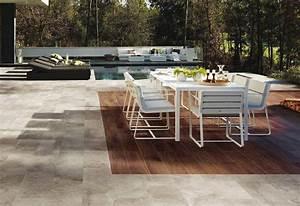 Terrassen Fliesen Großformat : keramische bodenplatten f r terrasse in holzoptik garten ~ Frokenaadalensverden.com Haus und Dekorationen
