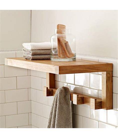lifeestyle mango wood bathroom wall shelf buy lifeestyle