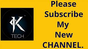 Please subscribe my new channel....😃😃😃 - YouTube