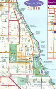 Chicago Lakefront Bike Map Routes