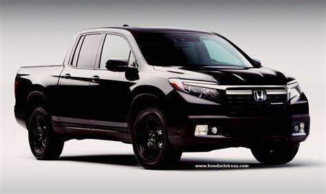 2019 Honda Ridgeline Black Edition by 2019 Honda Ridgeline Black Edition For Sale Honda Civic