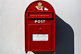 European style red Mailbox | Red aesthetic, Red mailbox ...