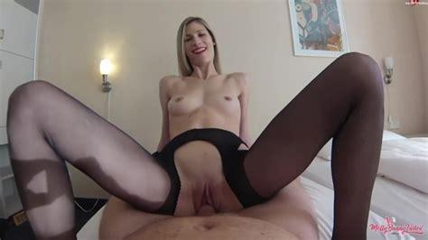 Black Crotchless Pantyhose Sex