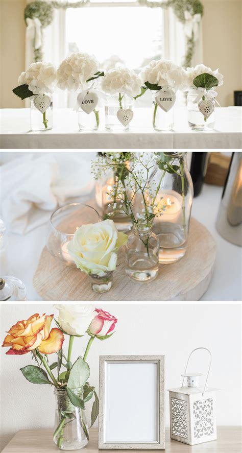 Minimalistische Hochzeitstischdekohochzeitskiste (3