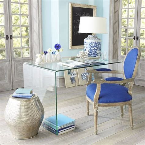Home Blue And White by 7 Glamorous Home Offices The Well Appointed House