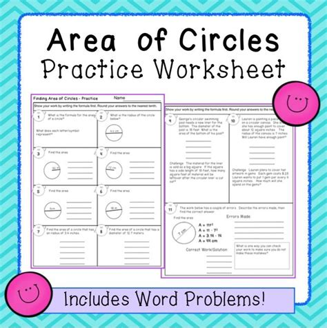 circumference word problems worksheets printable