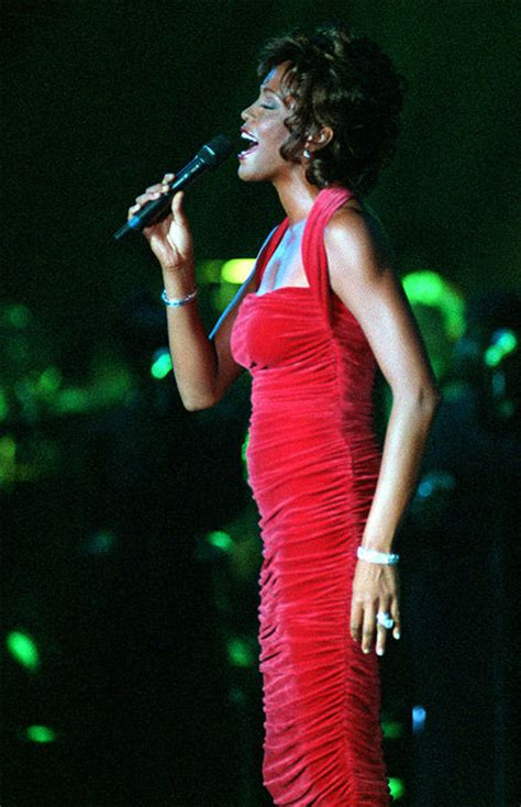 whitney houston   years abccom